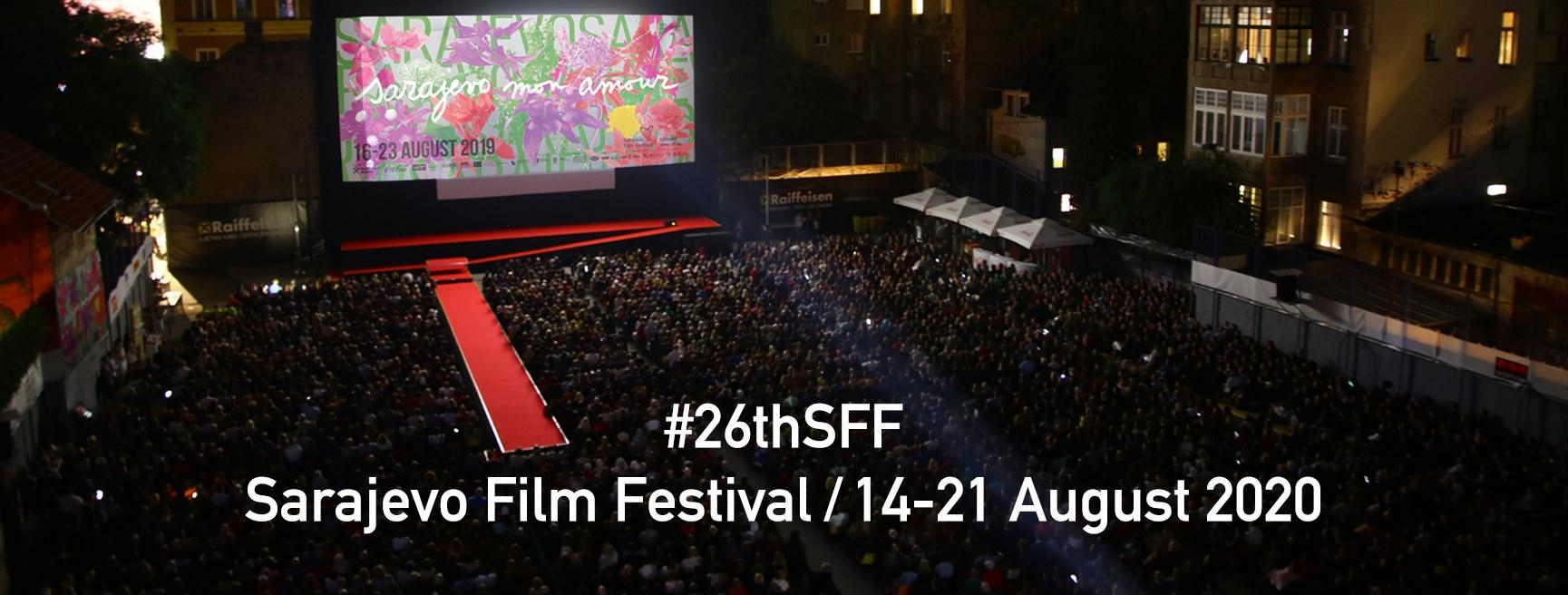 Sarajevo filmový festival-vystupoval