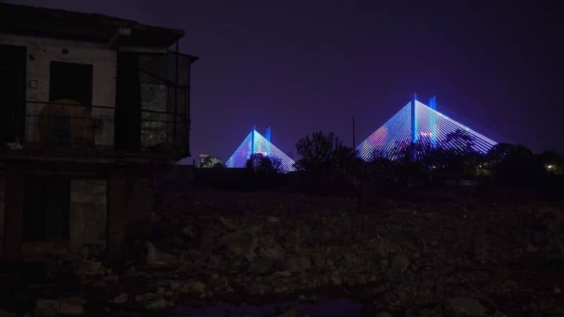 A River Runs, Turns, Erases, Replaces, a film by Shengze Zhu