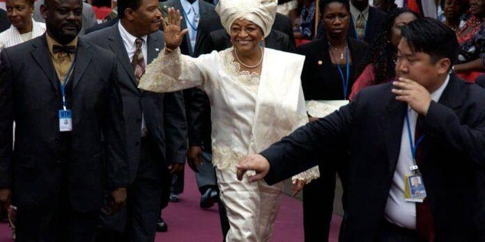Iron Ladies of Liberia, a film by Siatta Scott Johnson, Daniel Junge