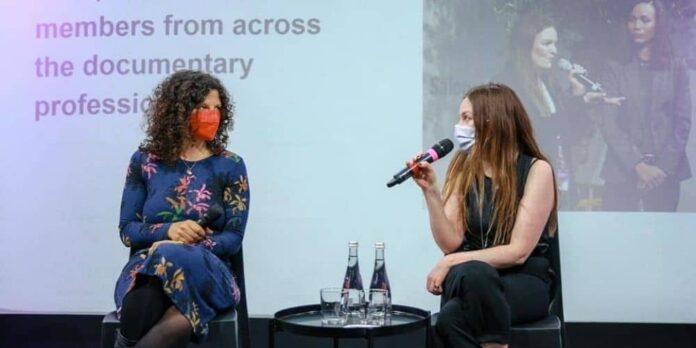 Die Mitbegründerinnen des European Documentary Network Bridget O'Shea und Marion Schmidt